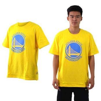 【NBA】勇士隊-男女美國職籃印花圓領短袖T恤-籃球 WARRIORS 黃藍