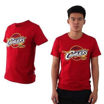 【NBA】騎士隊-男女美國職籃印花圓領短袖T恤-籃球 CAVALIERS 紅黃白