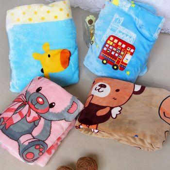 【Victoria】卡通毛毯童毯-多款任選