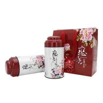 【鑫龍源茶】(冬茶)杉林溪牡丹高山烏龍茶禮盒(2罐組/150g/罐)