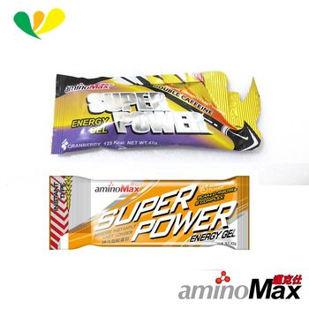 aminoMax邁克仕SUPER POWER-energy gel 持久型能量包(10包)A77+A80