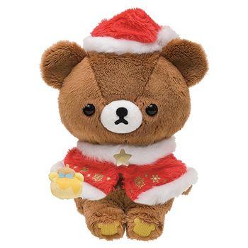 San-X 拉拉熊2016聖誕節店舖限定版毛絨公仔。蜂蜜小熊