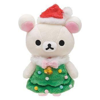 San-X 拉拉熊2016聖誕節店舖限定版毛絨公仔。懶妹