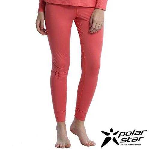 Polarstar 女遠紅外線保暖褲『橘粉紅』排汗│透氣│保暖│抗靜電 P16432