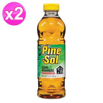 【美國 Pine-Sol】清潔劑(松木香 24oz/709ml) 3入組