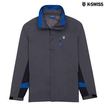 K-Swiss Outdoor Parka戶外運動外套-男-炭灰