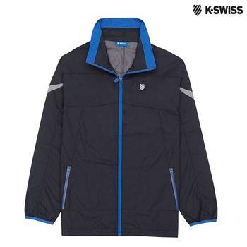 K-Swiss Outdoor Parka戶外運動外套-男-黑