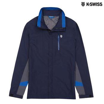 K-Swiss Outdoor Parka戶外運動外套-男-海軍藍
