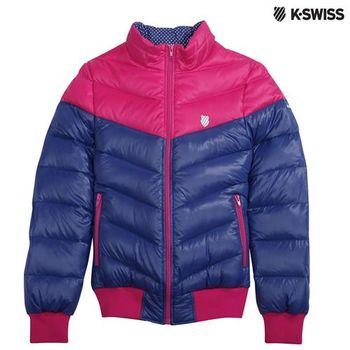 K-Swiss Down Jacket羽絨外套-女-瑰紅/紫