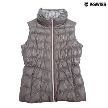 K-Swiss Down Vest羽絨背心-女-橄欖