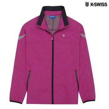 K-Swiss Outdoor Parka戶外運動外套-女-瑰紅