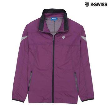 K-Swiss Outdoor Parka戶外運動外套-女-紫