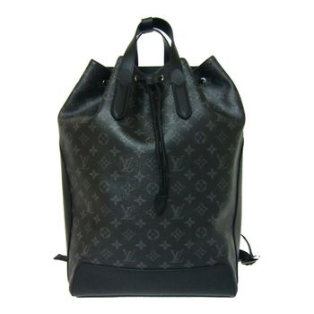 LV M40527 Backpack Explorer 黑經典花紋後背水桶包.預購