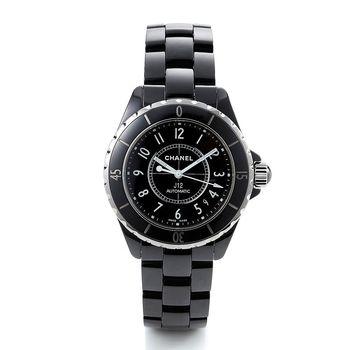 CHANEL J12經典陶瓷機械錶H0685/38mm(黑)