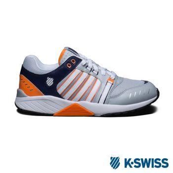 K-Swiss Si-18 Trainer III休閒運動鞋-男-灰/藍/橘