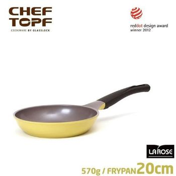 韓國 CHEF TOPF La Rose玫瑰鍋 平底鍋20cm(無蓋)