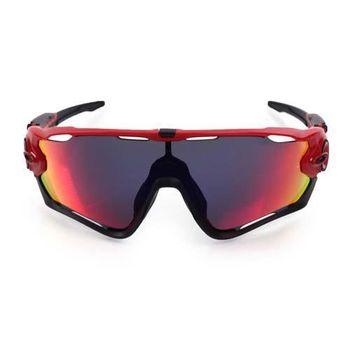 【OAKLEY】JAWBREAKER REDLINE-附硬盒鼻墊 太陽眼鏡 黑紅