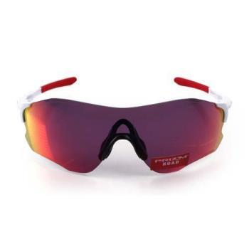 【OAKLEY】EVZERO PATH 道路專用太陽眼鏡-附硬盒鼻墊 單車 紅白