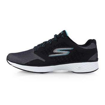 【SKECHERS】GO WALK SPORT-ACTIVE 女運動健走鞋 黑水藍