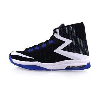【NIKE】AIR DEVOSION-GS 女高筒籃球鞋 黑藍白