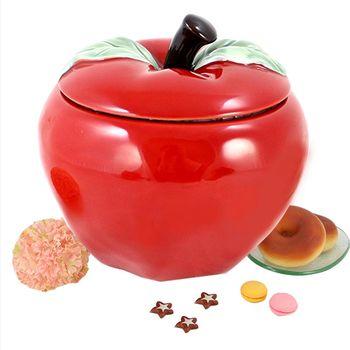 平平安安陶瓷糖果罐KA195007【買就送御茶道茶具組七件式】