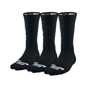 【NIKE】SB 3男款包裝長襪-慢跑 路跑 中筒襪 襪子 黑白