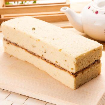 獨家【里昂】鹹蛋糕『香椿素食』8盒組(650g/盒)搭贈布朗尼巧克力球*4顆