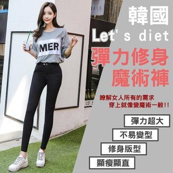 韓國 lets Diet 秋冬最新發表款魔術褲 ( 附贈除毛滾輪 )