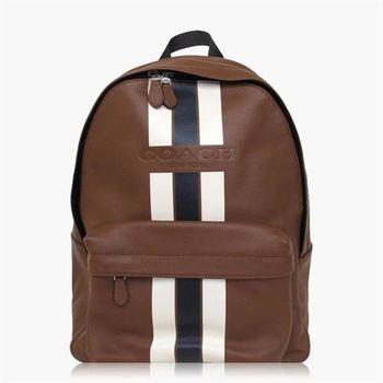 COACH 旅行 皮革 / 背包 / 後背包 咖啡