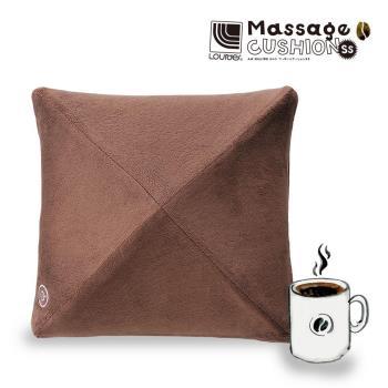 【LOURDES】日式按摩抱枕-咖啡(買一送一)