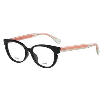 FENDI 小貓眼光學眼鏡 FF0143F