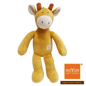美國miYim有機棉安撫娃娃 傑瑞長頸鹿 32cm