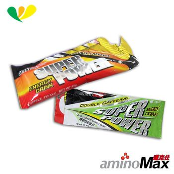 aminoMax 邁克仕 SUPER POWER-energy DRINK 爆發型能量包(各5包) A070+A073
