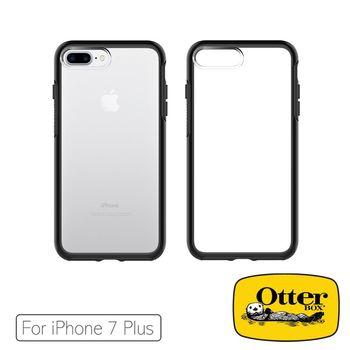 OtterBox iPhone7 Plus炫彩幾何透明保護殼-極黑水晶 53954