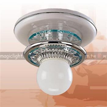 【光的魔法師 Magic Light】銀環系列 銀環吸頂單燈│安全燈具│塑膠吸頂燈│臺灣製造