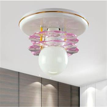 【光的魔法師 Magic Light】粉紅花片吸頂單燈 適用LED燈泡 吸頂單燈燈飾