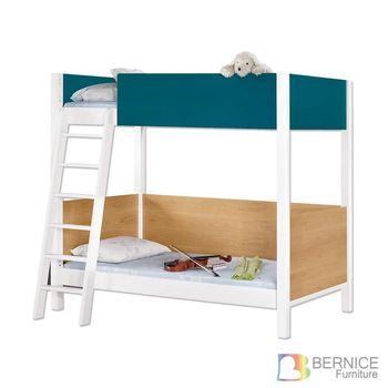 Bernice-潘恩3.9尺雙色雙層床架