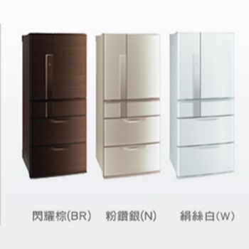 │MITSUBISHI│三菱 635L六門 變頻電冰箱 MR-JX64W