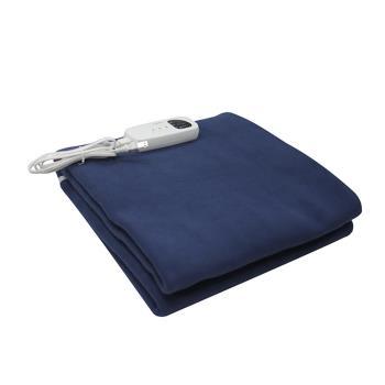 【康寶】微電腦控制可定時/5總溫度設定/單人電毯(海洋藍色系)B1-L