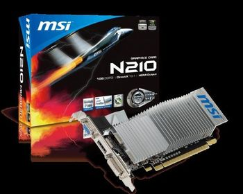 微星 MSI N210-MD1G/D3 顯示卡 GeForce 210 DDR3 HDMI