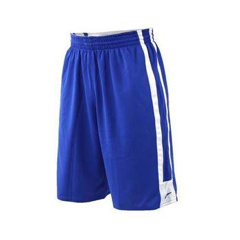【NIKE】男針織短褲-籃球褲 運動褲 慢跑 路跑 雙面 球褲 藍白