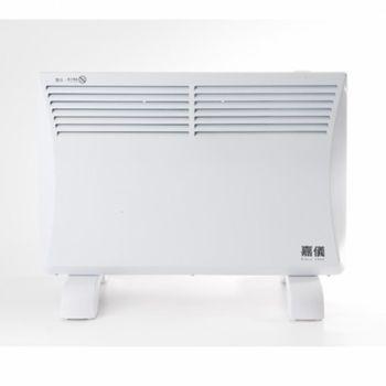 《福利品,外箱破損》HELLER嘉儀熱對流式防潑水電暖器KEB-80