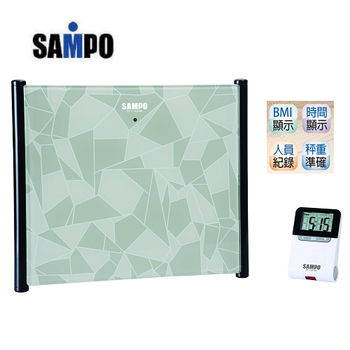 【SAMPO聲寶】BMI電子體重計BF-L1401ML