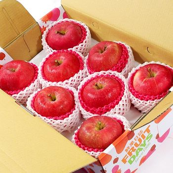 鮮果日誌 日本空運套袋富士蘋果