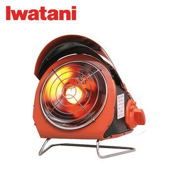 【Iwatani】戶外卡式瓦斯暖爐 CB-ODH-1-OR