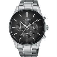 ALBA 東京都會 計時腕錶 ^#45 鐵灰 ^#47 42mm VD53 ^#45 X2