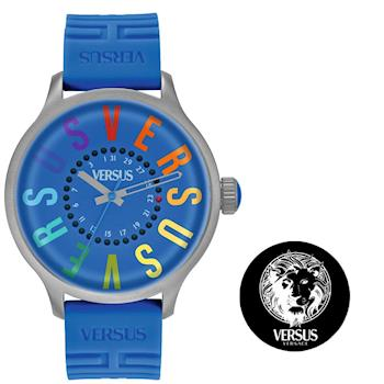 【Versus】米蘭城市煥彩腕錶-藍(SGU03)