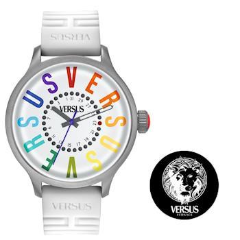 【Versus】米蘭城市煥彩腕錶-白(SGU02)