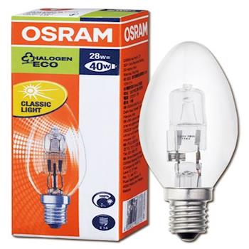 OSRAM歐司朗鹵素燈泡 28W E14 4入組