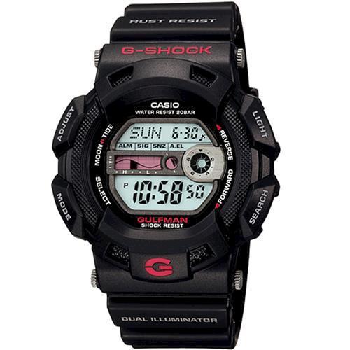 【CASIO】G-SHOCK 海灘型男GULFMAN系列專屬運動錶 (G-9100-1)